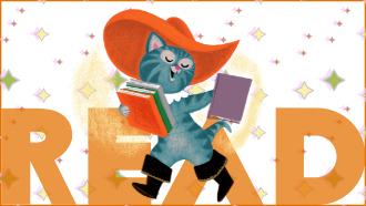 puss in boots illustration text:read