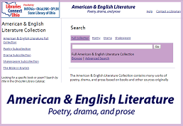American and English Literature database