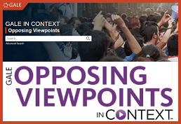 Opposing Viewpoints in Context (Gale)