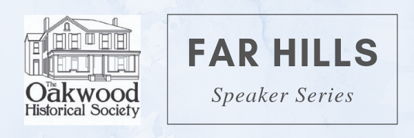 Far Hills Speaker Series