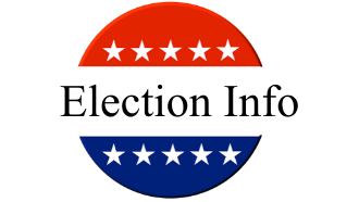 election info red white and blue