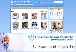 Screenshot of Consumer Health Complete