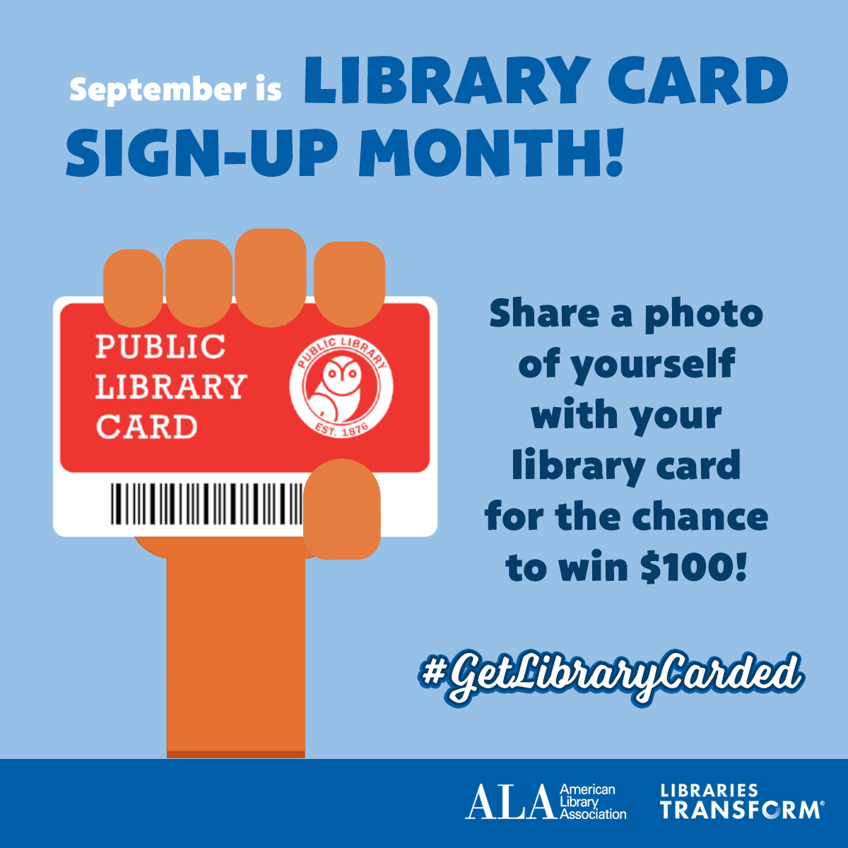 get library carded promotion image