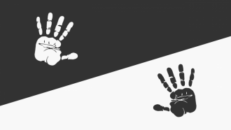 Black and white hands - Antiracism